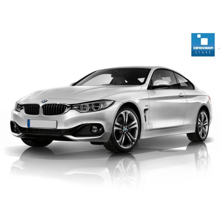 <p>Kit Focus Pro Korea Xenon 35W specifico per il faro della BMW Serie 4 F32 dal 2013 in poi. Plug&amp;Play zero spie, contiene tutto l'occorrente. Luce Bianco Lunare 6000k.</p> <p>&nbsp;</p>