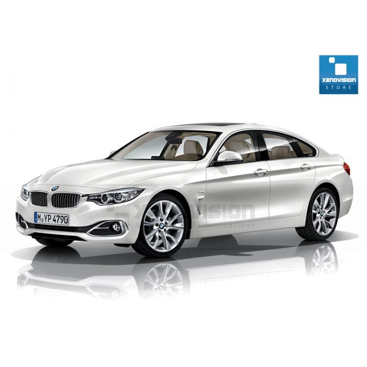 <p>Kit Focus Pro Korea Xenon 35W specifico per il faro della BMW Serie 4 F36 dal 2013 in poi. Plug&amp;Play zero spie, contiene tutto l'occorrente. Luce Bianco Lunare 6000k.</p> <p>&nbsp;</p>