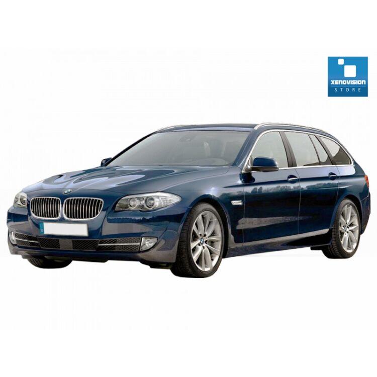 <p>Kit Focus Pro Korea Xenon 35W specifico per il faro della BMW Serie 5 E61 dal 2004 al 2010. Plug&amp;Play zero spie, contiene tutto l'occorrente. Luce Bianco Lunare 6000k.</p> <p>&nbsp;</p> <p>&nbsp;</p>