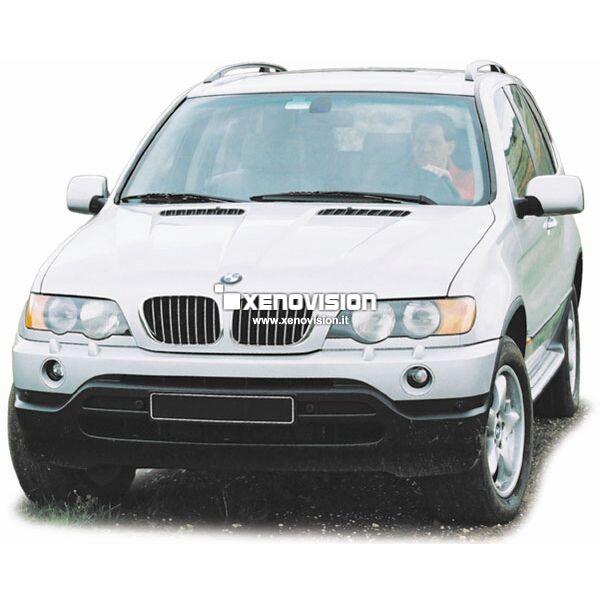 <p>Kit Focus Pro Korea Xenon 35W specifico per il faro della BMW Serie X5 E53 1999-2003. Plug&amp;Play zero spie, contiene tutto l&#39;occorrente. Luce Bianco Lunare 6100k.</p><p>&nbsp;</p><p>&nbsp;</p>
