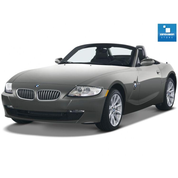<p>Kit Xenon 35W specifico per il faro della BMW Z4 E85/E86 e Luci Posizione a Led in tinta. Plug&amp;Play zero spie, contiene tutto l'occorrente. Luce Bianco Lunare 6000k.</p> <p>&nbsp;</p>