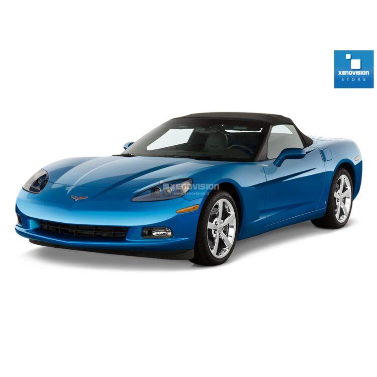 <p>Kit Xenon 35W specifico per il faro della Chevrolet Corvette C6 dal 2005 al 2013. Plug&amp;Play zero spie, contiene tutto l&#39;occorrente. Luce Bianco Lunare 6000k.</p>