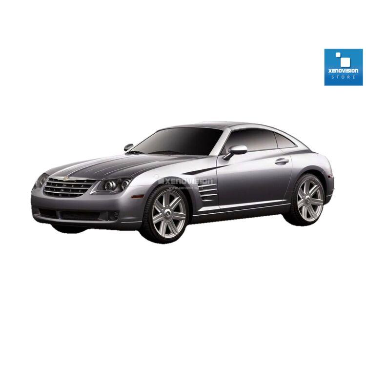 <p>Kit Xenon 35W specifico per il faro della Chrysler Crossfire dal 2003 al 2007 e Luci Posizione a Led in tinta. Plug&amp;Play zero spie, contiene tutto l&#39;occorrente. Luce Bianco Lunare 6000k.</p><p>&nbsp;</p>