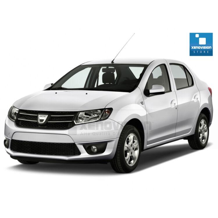 <p>Kit Xenon 35W specifico per il faro della Dacia Logan II dal 2012 in poi, include Luci Posizione Led in tinta. Plug&amp;Play zero spie, contiene tutto l&#39;occorrente. Luce Bianco Lunare 6000k.</p>