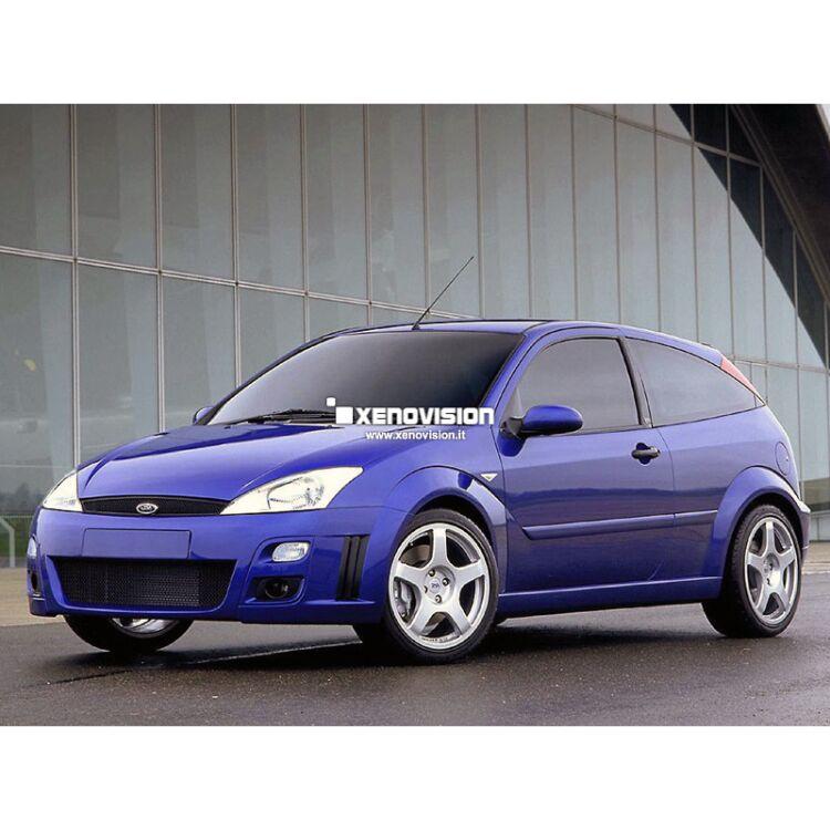 <p>Kit Xenon 35W e Luci Posizione a Led in tinta, pacchetto specifico per Ford Focus. Plug&amp;Play, contiene tutto l'occorrente. Luce Bianco Lunare 6000k &nbsp;</p>