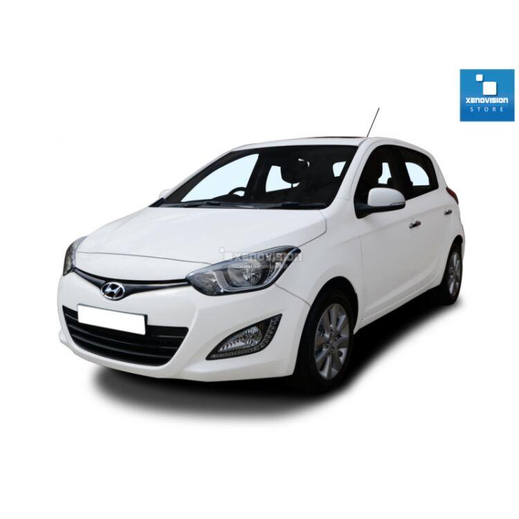 <p>Kit Xenon 35W specifico per il faro della Hyundai i20 Restyling 2012 a 2014, a 6000k. Plug&amp;Play zero spie, contiene tutto l&#39;occorrente.</p>