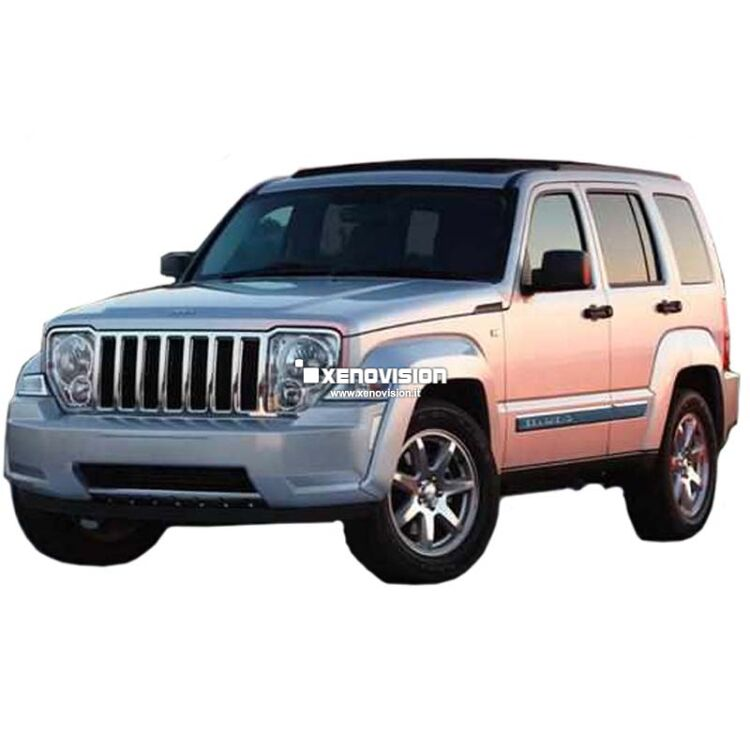 <p>Kit Xenon 35W specifico per il faro della Jeep Cherokee KK dal 2008 in poi e Luci Posizione a Led in tinta. Plug&amp;Play zero spie, contiene tutto l&#39;occorrente. Luce Bianco Solare 5000k.</p>