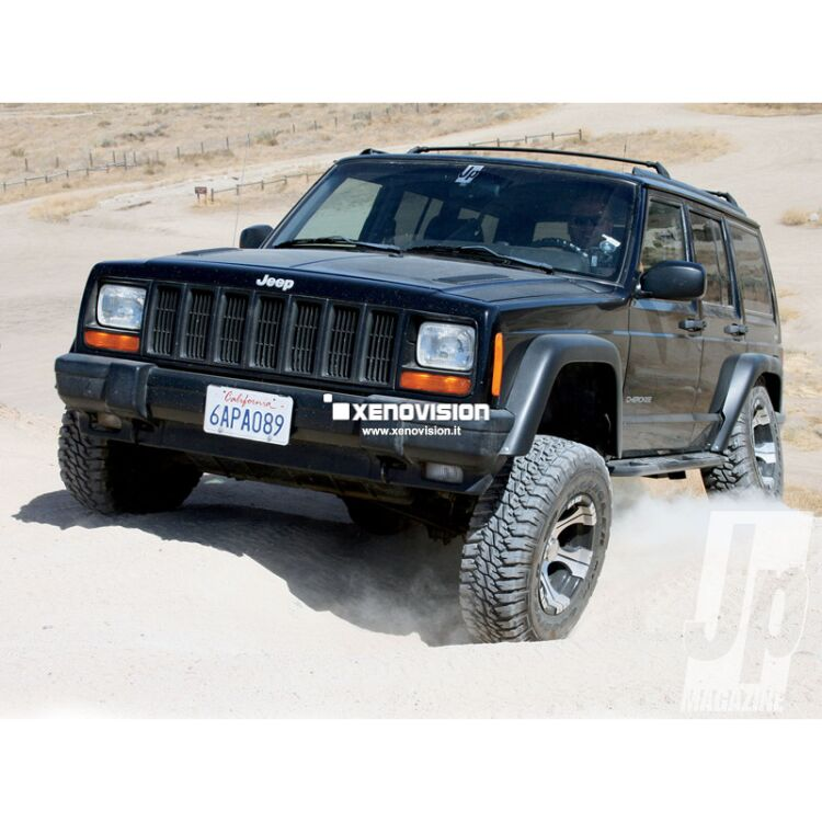 <p>35W HID Bi-Xenon Kit for your&nbsp;1984 - 2001 Jeep Cherokee XJ Headlight, including LED position Lights. Plug&amp;Play Error-Free, all included. Lunar White 6000K.</p>