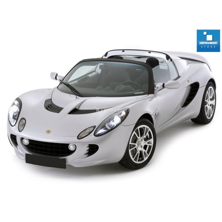 <p>Kit Xenon 35W specifico per il faro della Lotus Elise S2 dal 2001 al 2010. Plug&amp;Play zero spie, contiene tutto l&#39;occorrente. Luce Bianco Lunare 6000k.</p><p>&nbsp;</p>