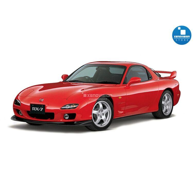 <p>Kit BiXenon 35W specifico per il faro della Mazda RX7 FD3S dal 1991 al 2002. Plug&amp;Play zero spie, contiene tutto l&#39;occorrente. Luce Bianco Lunare 6000k.</p>