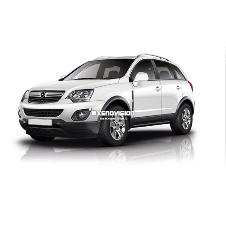 <p>Kit Xenon 35W Focus Pro Korea specifico per il faro della Opel Antara dal 2010 con luci di posizione in tinta. Pacchetto specifico per Opel Antara dal 2010. Plug&amp;Play zero spie, contiene tutto l'occorrente. Luce Bianco Solare 5300k.</p> <p>&nbsp;</p>