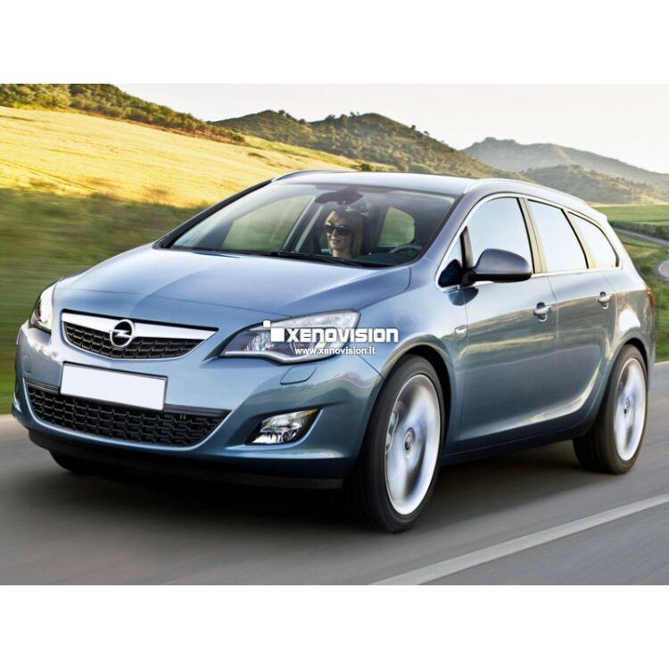 <p>Kit Xenon Specifico per i fari della tua Opel Astra J Tourer. Engineered by Xenovision - Qualit&agrave; Massima.</p>