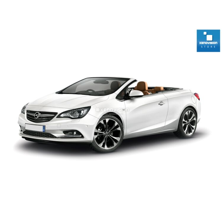 <p>Kit Xenon 35W specifico per il faro della Opel Cascada dal 2013 in poi, con lampade specifiche introvabili, a 6000k. Plug&amp;Play zero spie, contiene tutto l&#39;occorrente.&nbsp; </p>