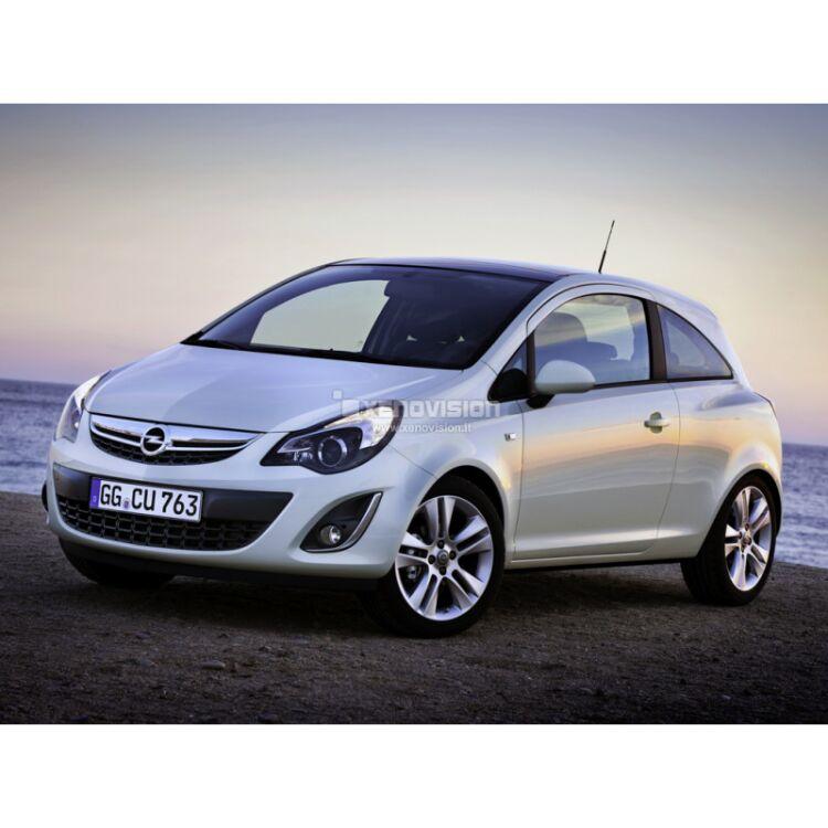 <p>Kit Xenon 35W specifico per il faro con lampade H11B della Opel Corsa e Luci DRL a Led in tinta. Plug&amp;Play zero spie, contiene tutto l&#39;occorrente. Luce Bianco Lunare 6000k.</p><p>&nbsp;</p>