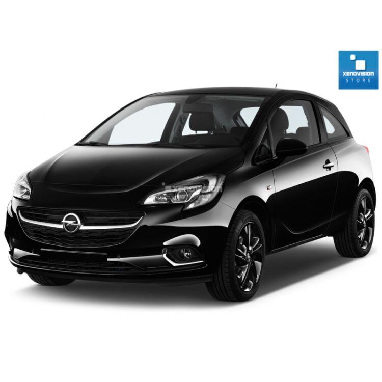 <p>Kit Xenon 35W specifico per il faro della Opel Corsa E - PARABOLA. Plug&amp;Play zero spie, contiene tutto l'occorrente. Luce Bianco Lunare 6000k.</p> <p>&nbsp;</p>