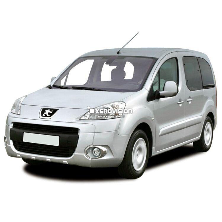 <p>Kit Bixenon 6000k Bianco Solare e Luci posizione a Led in tinta per Peugeot Partner dal 2008 in poi. L&#39;unico senza spie.</p>