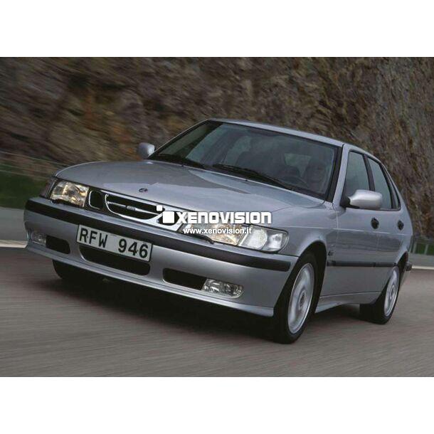<p>Kit Xenon 55W e Luci Posizione a Led in tinta, pacchetto specifico per Saab 9-3. Plug&amp;Play, contiene tutto l'occorrente. Luce Bianco Lunare 6000k &nbsp;</p>