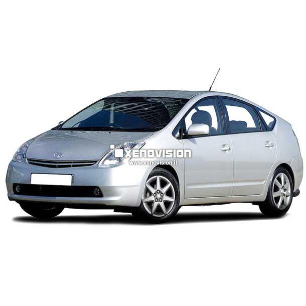 <p>Kit BiXenon 35W specifico per il faro della &nbsp;Toyota Prius e Luci Posizione Led in tinta. Plug&amp;Play zero spie, contiene tutto l&#39;occorrente. Luce Bianco Lunare 6000k.</p>