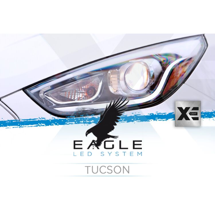 <p>&nbsp;</p> <p>Forget bulb adaptors: this Eagle Kit is custom made to fit your Tucson as it was an OEM part.</p>